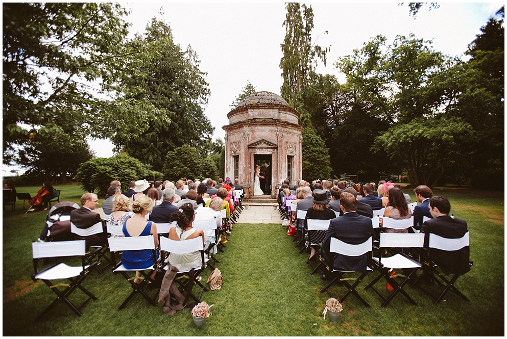 weddings at larmer tree gardens